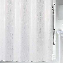 Spirella Wet White Pearl Effect Textile Polyester