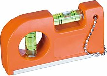 Spirit Level with Magnet and Clip Set of 2