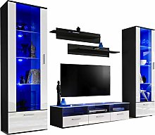 Splendid Living Room Furniture Set - Display Wall