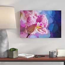 Splendid Orchid Painting Print on Canvas East