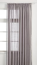 Splendid SCAN curtain with tape 285 x 280 CM Grey