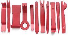 Splenssy 13 pieces Pry disassembly tool, red car