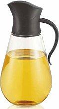SPNEC Oil and Vinegar Glass Cruet Bottle Container