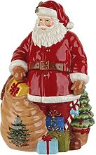 Spode 1634732 Christmas Tree Figural Santa Cookie