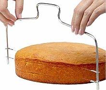Sponge Cake Adjustable Layer Slicer Cutting