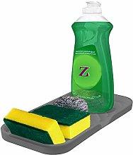 Sponge Holder for Kitchen Sink Organizer Tray