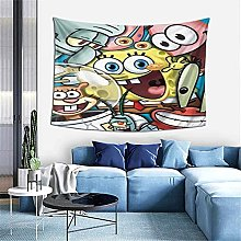 Spongebob Tapestries with Art Nature Home