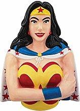Spoontiques Wonder Woman Sculpted Cookie Jar, One