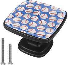 Sport Baseball Drawer Pulls Handle Cupboard