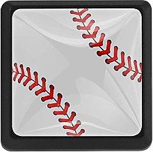 Sport Baseball Pattern, 3 Pcs Crystal Class
