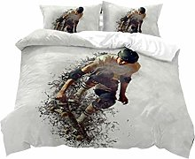 Sports Bedding Sets for Man Boys Teen,3D Extreme