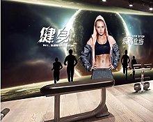Sports Fitness Wallpaper Beauty Fitness Mural