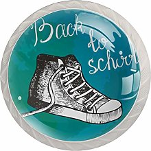 Sports Shoes 4 Packs Kitchen Cabinet Knobs,Pulls