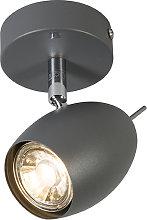 Spotlight Egg 1 Dark Grey