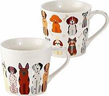 SPOTTED DOG GIFT COMPANY Mugs - 2pcs Coffee Mugs