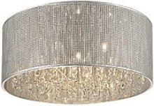 Spring Lighting - 7 Light Large Flush Ceiling