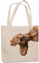 Springer Cocker Spaniel Tote Reuseable Shopping