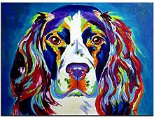 Springer Spaniel Print Oil Painting Wall Painting