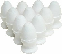Spun Paper Egg in a Cup Pk10 - Rapid