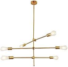 Sputnik Chandelier 6 Lights Pendant Lighting