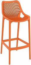 Spyro Bar Stool 75 Orange