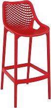 Spyro Bar Stool - Red