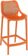 Spyro Mid Height Bar Stool 65 - Orange