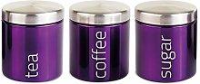 SQ Professional Airtight Tea Sugar and Coffee