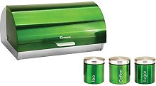 SQ Professional Gems Metallic Bread Bin and