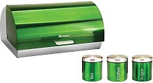 SQ Professional Gems Metallic Bread Bin and