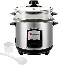 SQ Professional Lustro Rice Cooker and Steamer