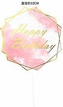 SQJU 3 Pcs Rose Gold Butterflies Cake Decoration