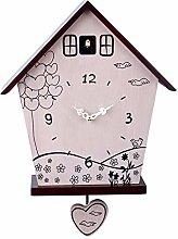SqSYqz Cuckoo Clock,Cuckoo Wall Clock Striking