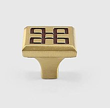 Square Brass Drawer Pulls Cabinet Door Pulls with