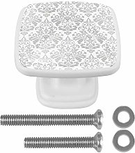 Square Drawer Knobs Cabinet Knobs Glass Furniture