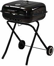 Square Folding Barbecue Grill, Portable BBQ