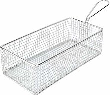 Square French Fries Basket, Stainless Steel Mini
