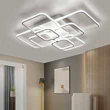 Square LED Ceiling Light Chandelier Lamp Cool