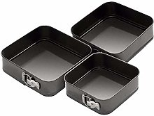 Square Mould Non-Stick Cake Pans Tray Bakeware