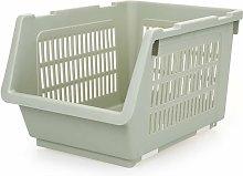 Square Plastic Fruit And Vegetable Storage Basket,