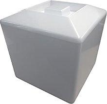 Square Plastic Ice Bucket 4L Champagne Wine Cooler