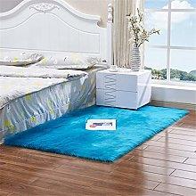 Square Plush Carpet, Non-Slip Soft Door Floor Mat