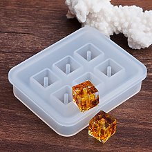 Square Resin Bead Silicone Mould 12mm With 2mm