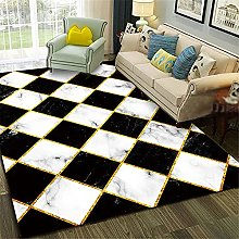 Square Rug Runners For Hallways Black and white