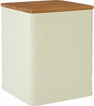 Square Storage Canister with Bamboo Lid Brambly