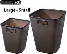 Square Trash Can Without Lid Home Living Room