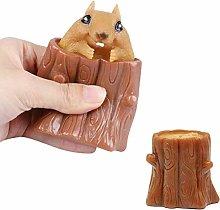 Squeeze Squirrel Cup Children's Toys, Evil