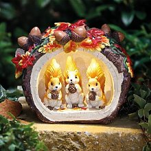 Squirrel Solar Light by Coopers of Stortford