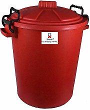 Srendi® 50L Plastic Bin/Waterfroof/Rodent