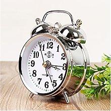Srfghjs Alarm Clocks Retro Gold Mechanical Alarm